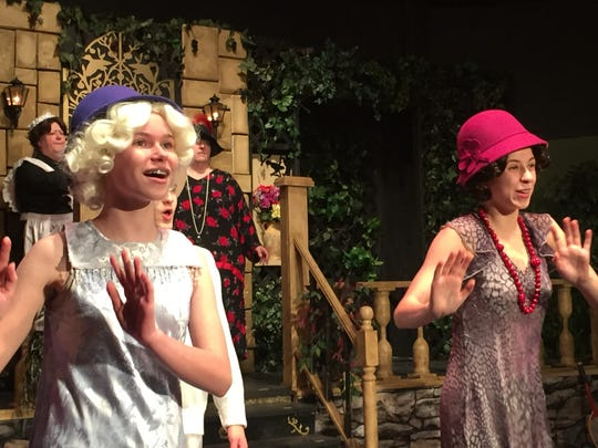 """The ladies of """"Flapper"""" bring back the Roarin' 20s at the Inspire Theatre in Westland."""