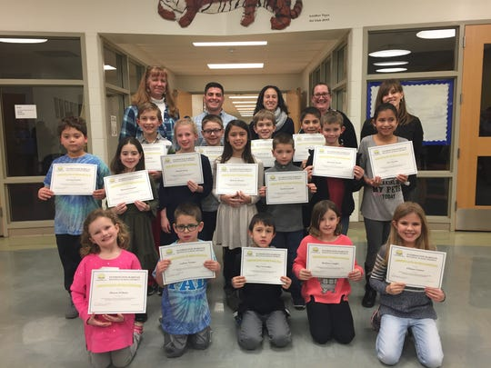Students and families who  participated in an Hour of Code.