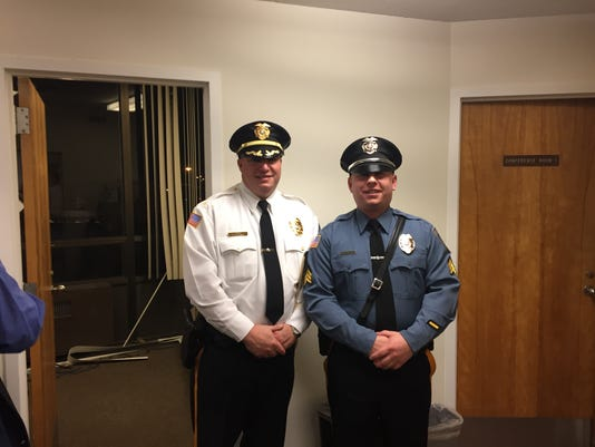 millville police promotions