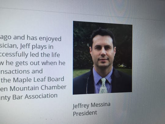 Jeffrey Messina, president of the Maple Leaf Treatment Center's Board of Directors, via the treatment center's website.