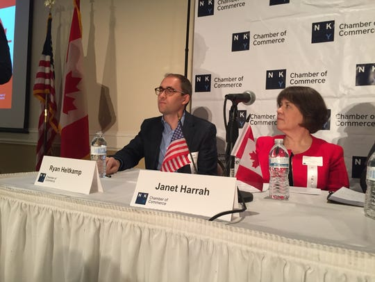 Northern Kentucky Chamber of Commerce panelists talk