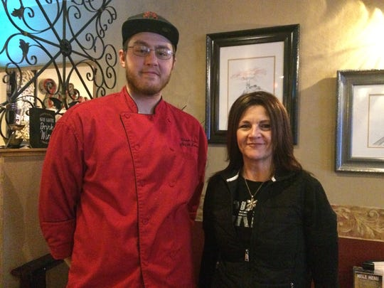 Baker Street Grill's chef Duane Kuhn and owner Bev