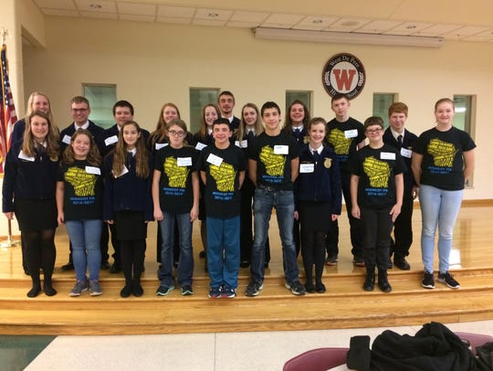 FFA members from around the U.S. — and Manitowoc County
