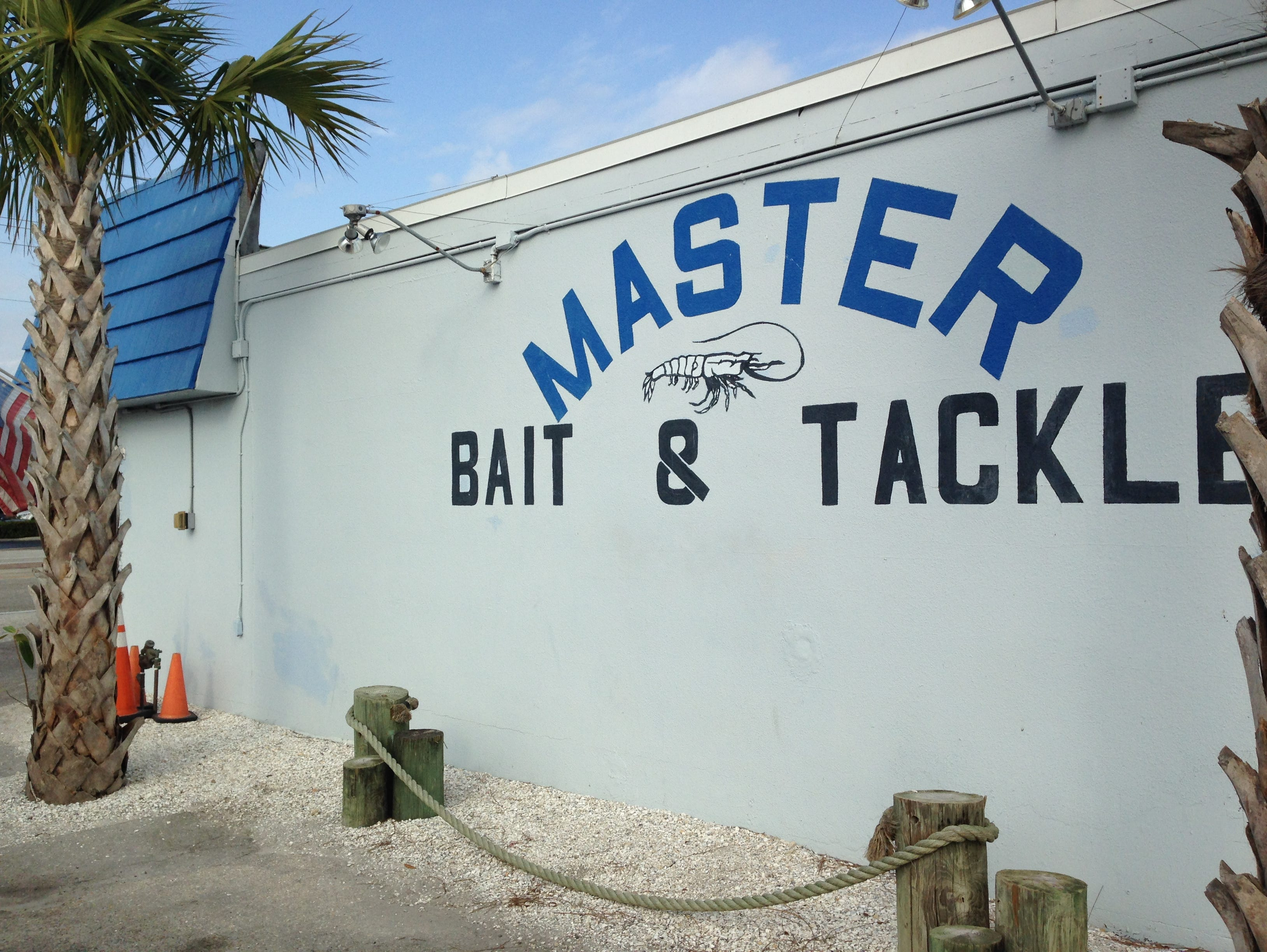 Something raunchy at this Florida bait shop.