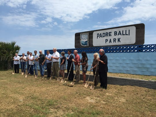 Proposed RESTORE grant funding would provide $7 million to restore Padre Balli and Magee Beach parks, if approved.