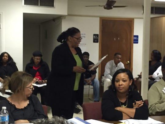 Lafayette NAACP chapter president Marja Broussard,