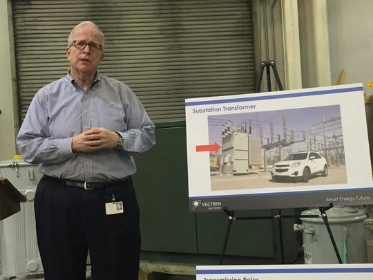 Carl Chapman, Vectren CEO, discusses the utility's proposed $500 million, seven-year upgrade.