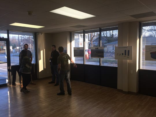 Residents of central Springfield's Rountree neighborhood visited a building owned by entrepreneurs who wish to add a craft brewery to the area on Feb. 21, 2017