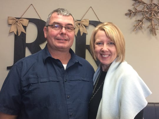 Rick and Jodi Parmeter, owners of Rustic Redefined