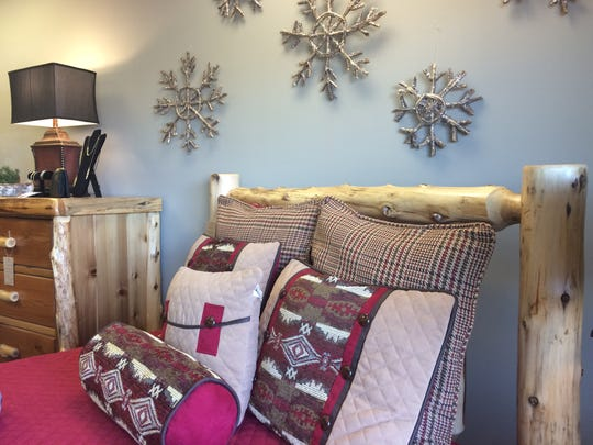 Shoppers can find furniture at Rustic Redefined in