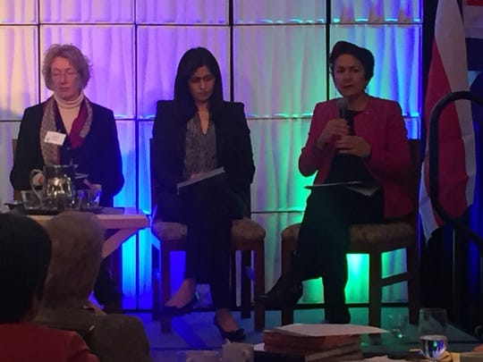 The event's attendees and panelists included Assemblywoman Anna Caballero, County Supervisor Jane Parker and Teresa Matsui of Matsui Nursery
