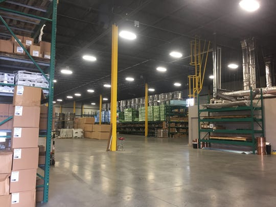 Inside ABC Supply in Plainfield.