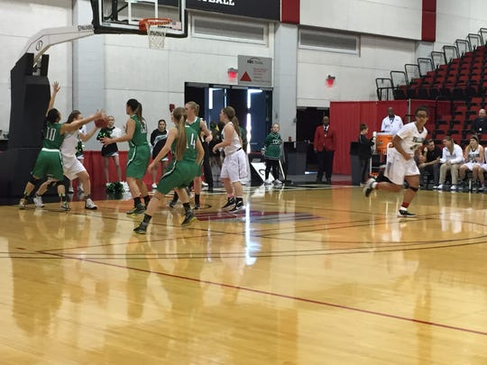 Fallon beat Virgin Valley, 52-40, Friday in a girls 3A state semifinal basketball at Cox Pavilion.