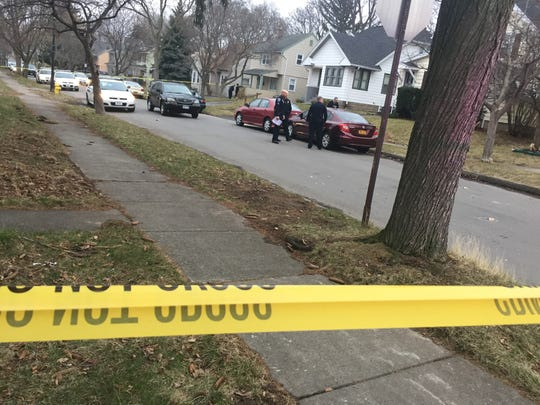 Rochester police on scene of a shooting at the intersection of Steko Avenue and Aster Street.