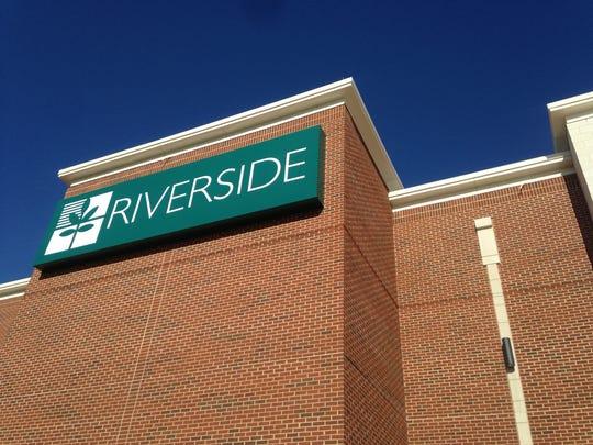 The new Riverside Shore Memorial Hospital near Onancock,