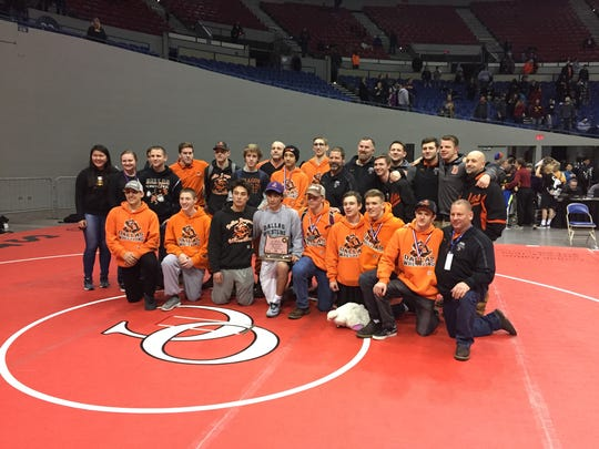 Dallas' wrestling team placed second in the 5A state tournament.