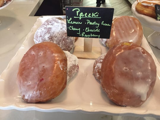 Glazed and Confused bakery offers cherry, raspberry,