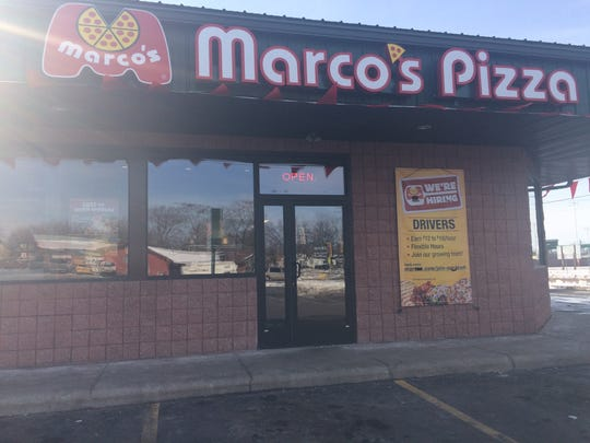 Marco's Pizza, which is connected to Family Video in Wisconsin Rapids, opened Monday, Feb. 27, 2017.