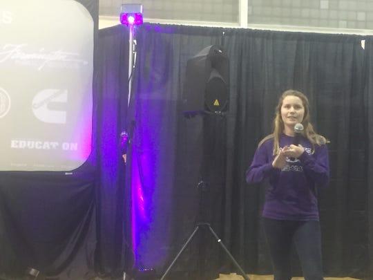 Hackbots program manager Emily Peterson explains part
