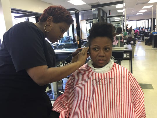 Monmouth County Vocational School recently held a community day to showcase students skills.