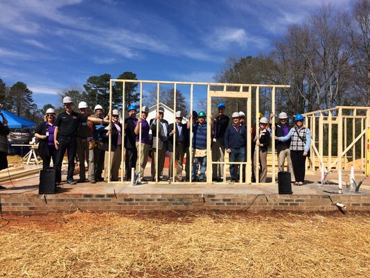 Executives to build Habitat home in Greenville