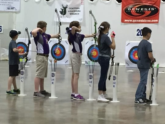 An estimated 1,000 shooters competed in the ALAS state