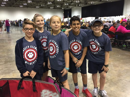 University Elementary archers included Slade Smith,