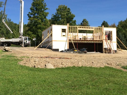Greg Martin Construction used ICF on a Windsor home.
