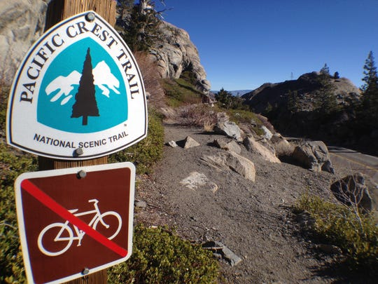 Bikes aren't currently allowed in wilderness areas