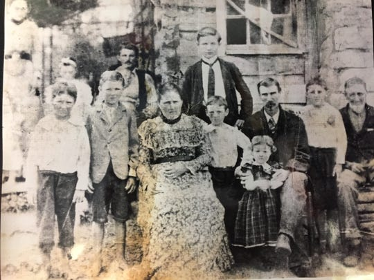 The Waldron family settled in the La Vergne and Cane Ridge communities in the early 1800. This photograph was taken in the early 1900s.