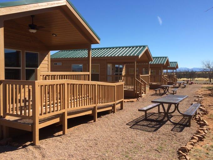 The four cabins at Kartchner Caverns State Park offer