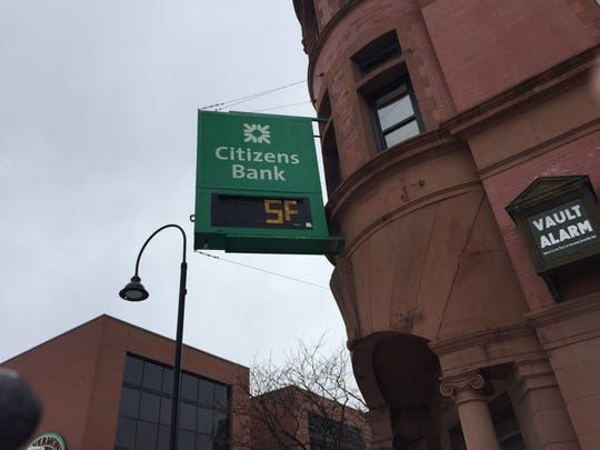 Saturday's frigid temperatures didn't stop people from