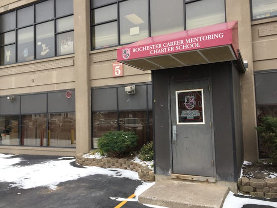 Rochester Career Mentoring Charter School on Hart Street in Rochester.