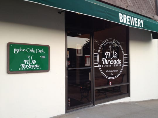 Five Threads Brewing Co. opened in a Westlake Village business park in October 2015 and has since expanded into a neighboring suite. The enlarged taproom will be unveiled March 17 during the brewery's second Slainte Fest, a ticketed event.