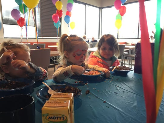 Kids are the stars of the show on Wednesdays at Rockhill