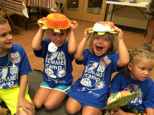 Arts and crafts are a part of the mini-camps offered for area kids at Wesselman's.