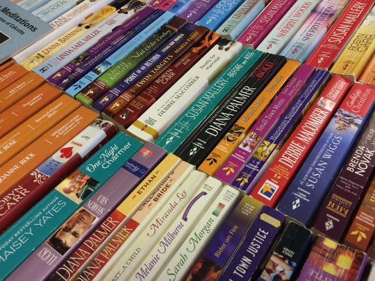 A small sample of some of the finds book lovers will come across at the annual book sale at Holy Name School on March 25-26.