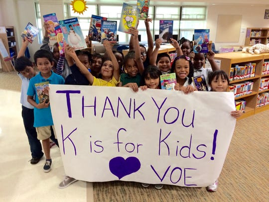Students at Village Oaks Elementary School in Immokalee