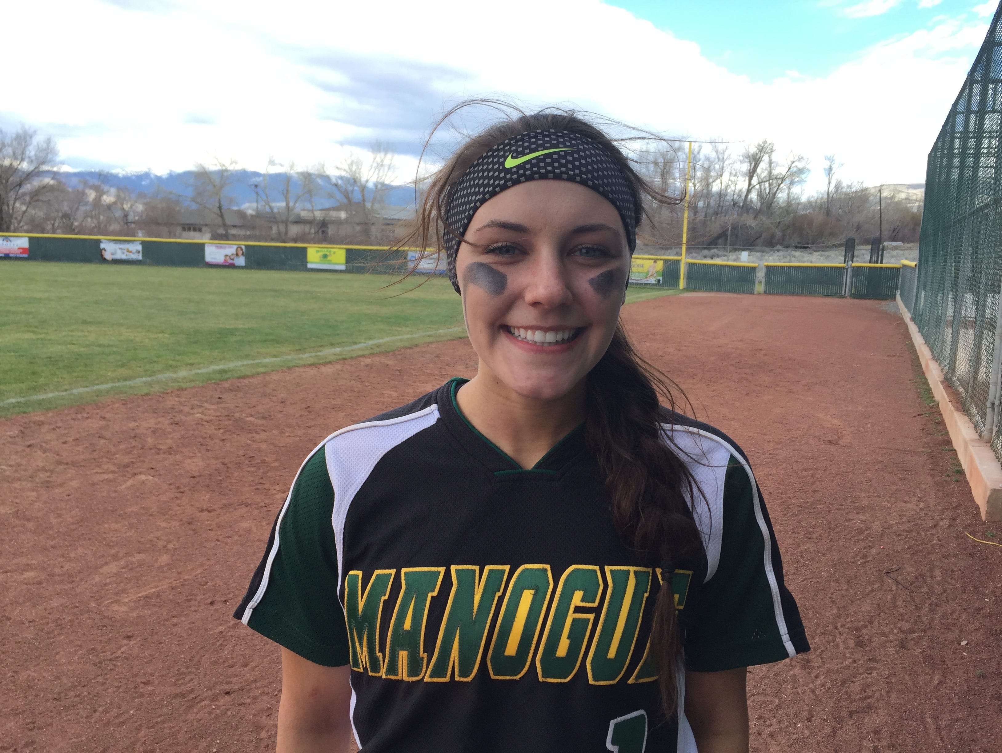 Bishop Manogue sophomore Maggie Joseph got the win in the second game Saturday.