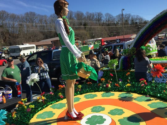Houston County Recreation Club's first-place float