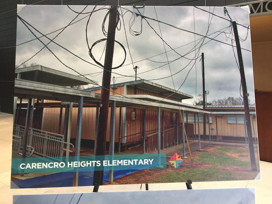 Carencro Heights Elementary was built in 1958 and has