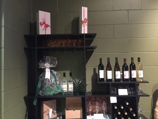 Red Cedar Spirits carries a selection of wine. Gift