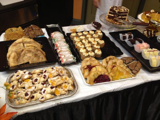 Village Bakery and Cafe in Pendleton has a great array of sweet starters to any day.