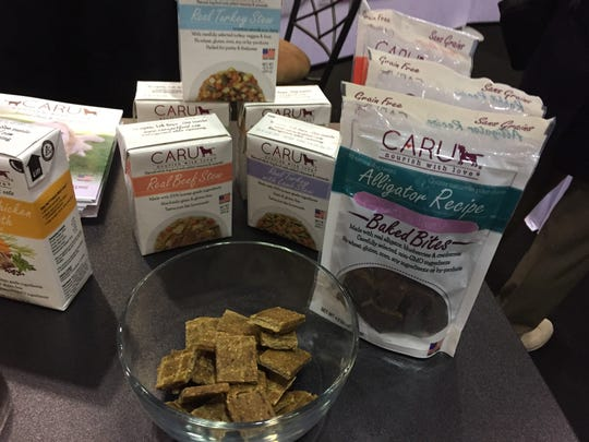"""Caru, a Vero-based specialty dog food company, makes a """"human-grade"""" food that some people have no qualms eating."""