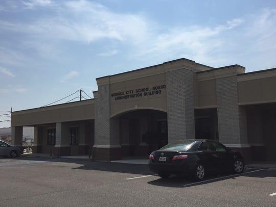 The Monroe City School Board main office.