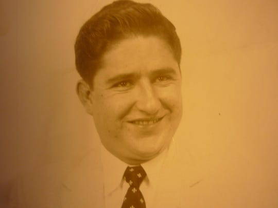 A young George Vello Nickolaou. Nickolaou died Saturday at age 85.