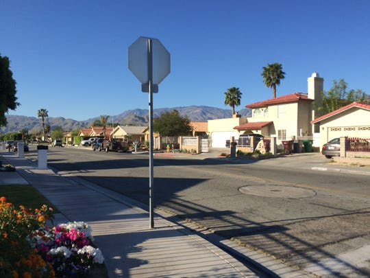 The Whispering Palms Trail neighborhood where two toddlers were abducted when the car they were in was stolen Thursday night, is quiet on Friday morning, March 24, 2017.