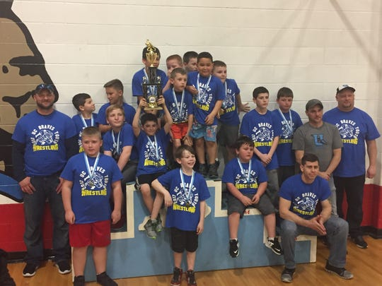 Blue team placed 3rd in the tournament.