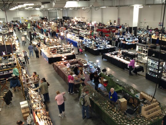 About 350 vendor booths will be present at the show.