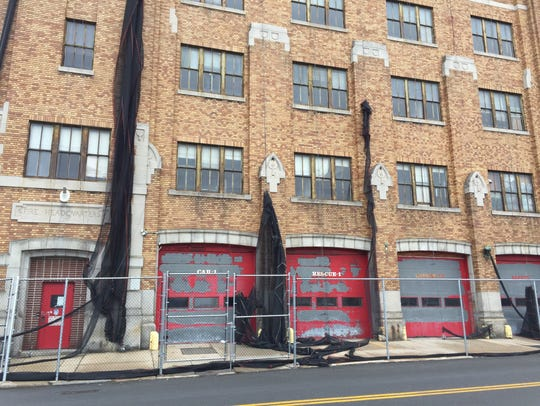 The former Fire Station 1 and Yonkers fire headquarters